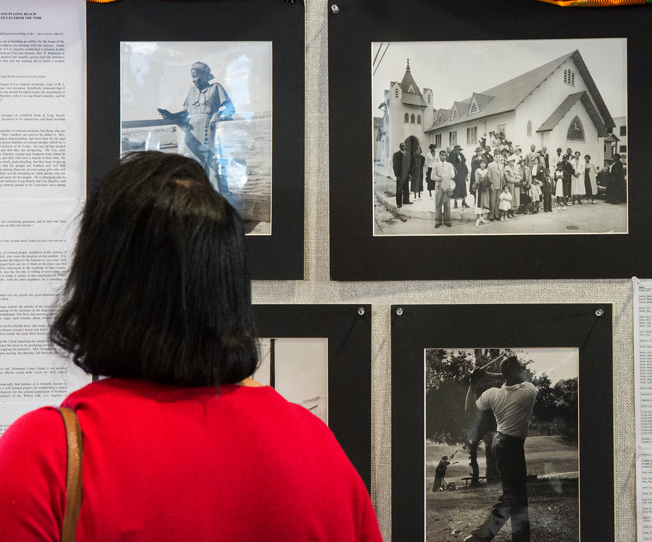 . Long Beach celebrates Black History Month a celebration titled �Rich History, Bright Future� in Long Beach Tuesday, February 14, 2017. (Photo by Thomas R. Cordova, Press-Telegram/SCNG)
