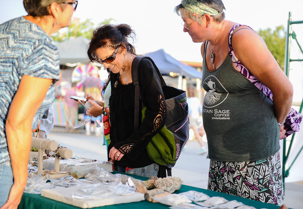 . The annual Yucaipa Music and Arts Festival kicks off in uptown Yucaipa, Calif. on Friday, May 5, 2017. The festival featured live entertainment, carnival, arts and other activities. (Photo by Rachel Luna, Redlands Daily Facts/SCNG)