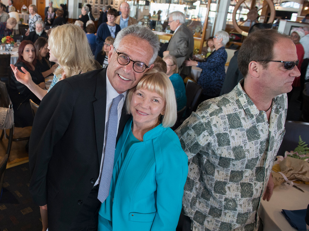 . A celebration of the life for Ernie Kell at the Long Beach Yacht Club in Long Beach May 11, 2017. Kell, 88, died at his home in El Dorado Park Estates on the city�s eastside after battling cancer for four months. He served as elected mayor from 1988 to 1994, winning two elections for mayor: one for a two-year term in 1988, and the second for a full, four-year term in 1990. It was a difficult period of change for Long Beach, which was on the brink of losing its naval base, downtown retail was struggling and jet-manufacturing jobs were being slashed. (Photo by Thomas R. Cordova, Press-Telegram/SCNG)