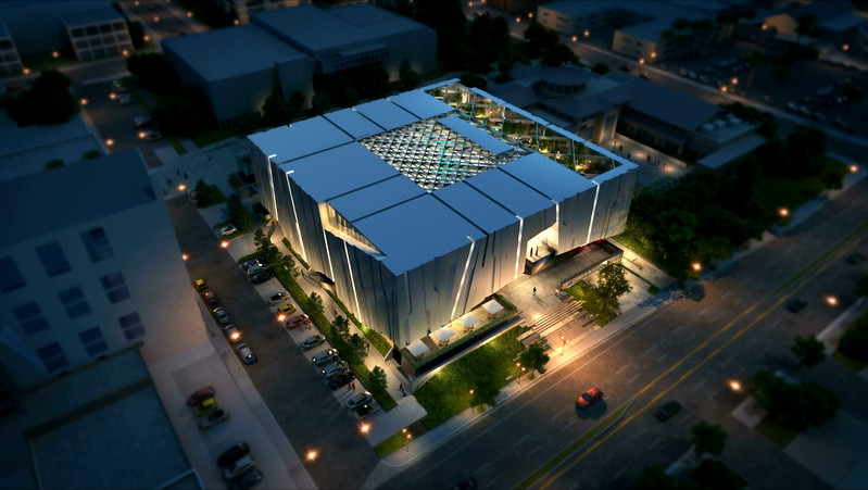 The Armenian American Museum and Cultural Center (AAM) is planned to be built across from the Central Library in downtown Glendale. The Museum envisions an iconic design that will depict the rock formations and mountain range found in Armenia. Alajajian-Marcoosi Artchitects described the design as also capturing the sensation one gets from the San Gabriel Mountains rising to the north of Glendale. (Courtesy renderings)