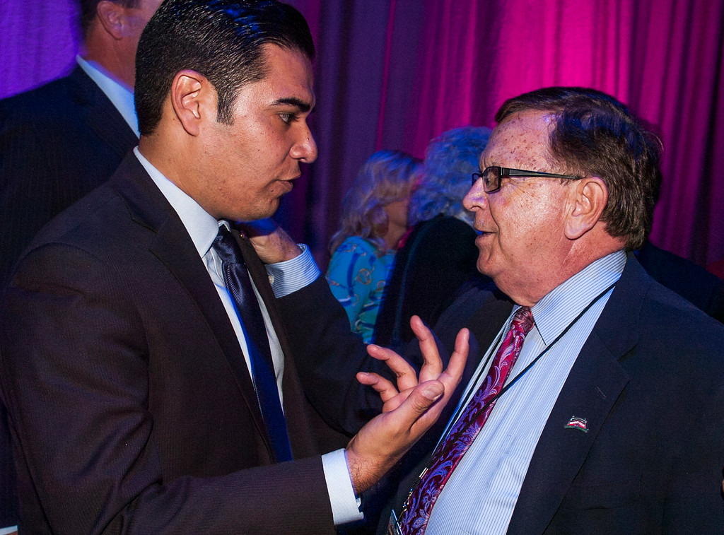 . Swearing-in ceremony after party for Mayor Robert Garcia, the 28th Mayor of Long Beach and other city council members at the Terrace Theater in Long Beach, CA. Tuesday July 15, 2014. (Thomas R. Cordova-Daily Breeze/Press-Telegram)