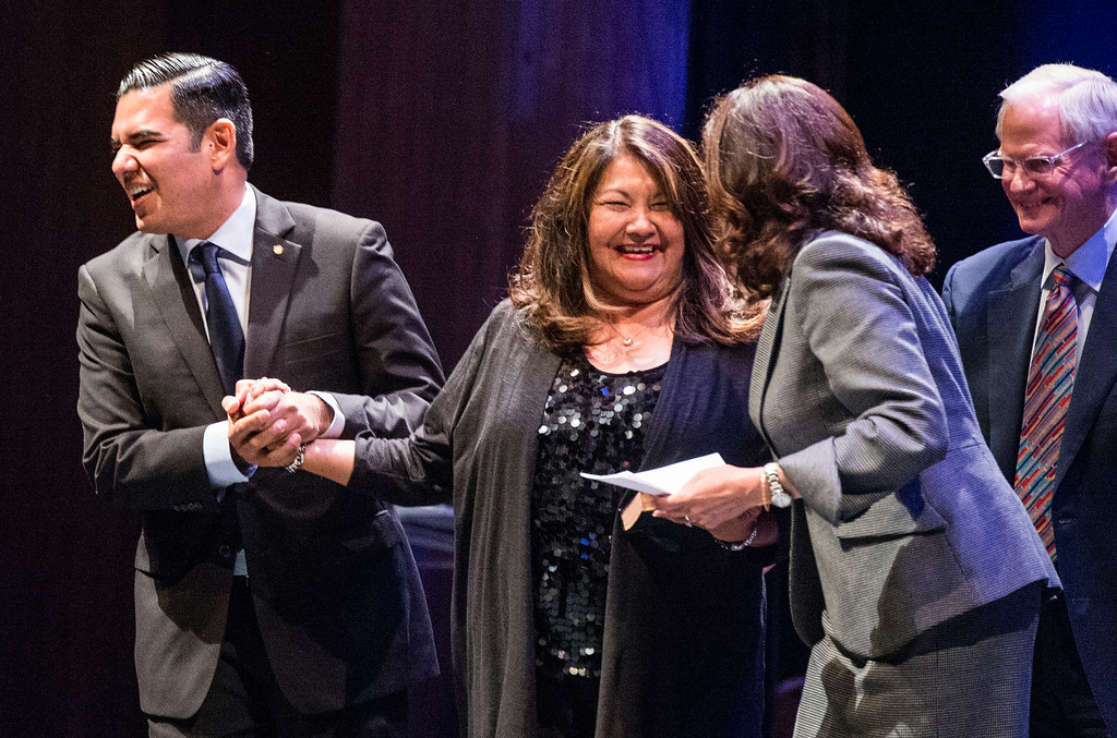 . Long Beach 2014 Inauguration at the Terrace Theater in Long Beach, CA. Tuesday July 15, 2014. (Thomas R. Cordova-Daily Breeze/Press-Telegram)