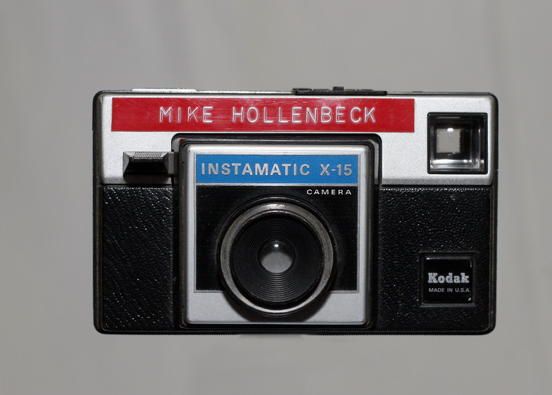 Kodak Instamatic X-15. My first camera.