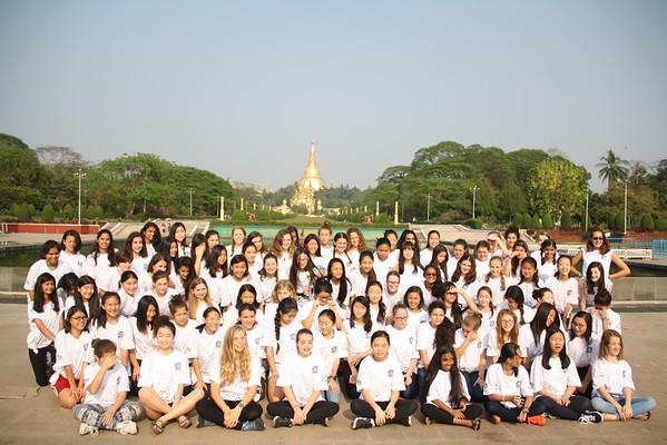 Asian Middle School Honor Girls' ChoirFestival