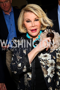 Joan Rivers. Photo by Tony Powell. 18th Annual White House Correspondents' Garden Brunch. Beall-Washington House. April 30, 2011