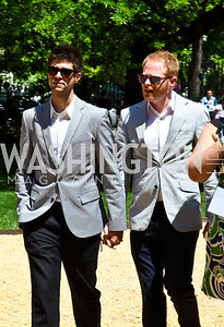 Justin Mikita, Modern Family's Jesse Tyler Ferguson. Photo by Tony Powell. 18th Annual WHC Garden Brunch. Beall-Washington House. April 30, 2011