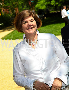 Ann Compton. Photo by Tony Powell. 18th Annual White House Correspondents' Garden Brunch. Beall-Washington House. April 30, 2011