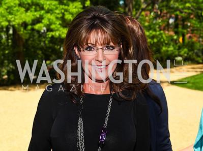 Sarah Palin. Photo by Tony Powell. 18th Annual White House Correspondents' Garden Brunch. Beall-Washington House. April 30, 2011