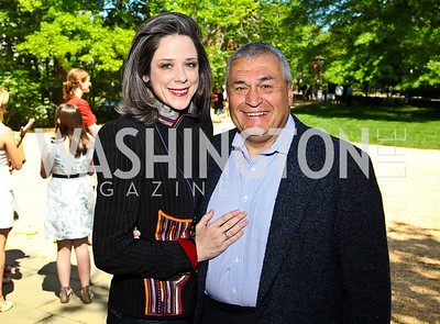 Heather and Tony Podesta. Photo by Tony Powell. 18th Annual White House Correspondents' Garden Brunch. Beall-Washington House. April 30, 2011
