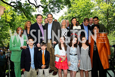 Photo by Tony Powell. 18th Annual White House Correspondents' Garden Brunch. Beall-Washington House. April 30, 2011