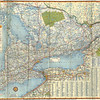 Southern Ontario Highway Map 1958. Shell.