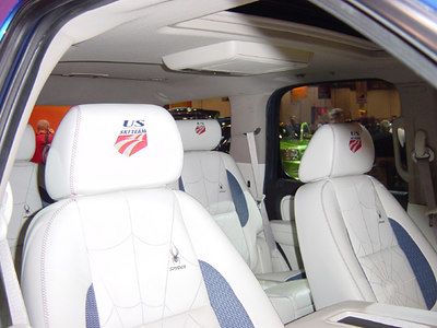 The plush interior is just one part of the package (credit: Carlson/USSA)