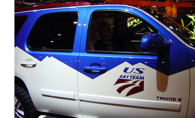 There's a new way to roll to the mountain with Chevrolet (credit: Carlson/USSA)
