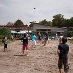 Bechvolleyball beim Hoffmannhaus