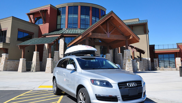Thule, the official cargo box and rack, of the U.S. Ski Team at the Center of Excellence in Park City, UT. Photo: Katie Perhai/USSA