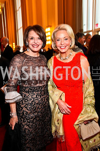 Marlene Malek, Amb. Mary Ourisman. Kennedy Center Spring Gala. Photo by Tony Powell. April 3, 2011