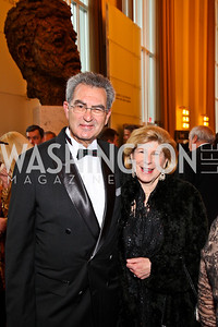 Dr. David Reines. Nina Totenberg. Kennedy Center Spring Gala. Photo by Tony Powell. April 3, 2011