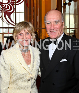 Jean Kennedy Smith, Bill Daley. Kennedy Center Spring Gala. Photo by Tony Powell. April 3, 2011