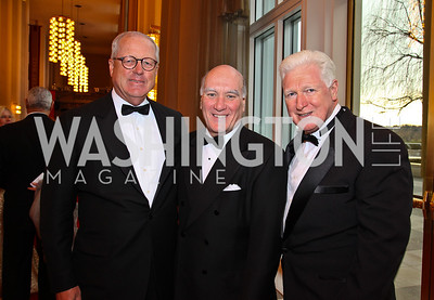 Jim Johnson, Bill Daley, Rep. Jim Moran. Kennedy Center Spring Gala. Photo by Tony Powell. April 3, 2011