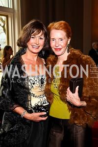 Dagmar Whittmer, Daris Clifton. Kennedy Center Spring Gala. Photo by Tony Powell. April 3, 2011