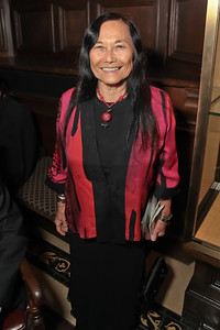 Jeanne Wakatsuki Houston.  2011 PEN/Faulkner Foundation Gala at Folger Shakespeare Libra. September 26, 2011. Photo by Alfredo Flores