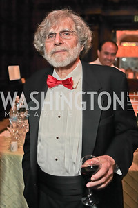 Alan Cheuse.  2011 PEN/Faulkner Foundation Gala at Folger Shakespeare Libra. September 26, 2011. Photo by Alfredo Flores