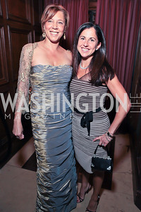 Lisa Page, Molly Elkin.  2011 PEN/Faulkner Foundation Gala at Folger Shakespeare Libra. September 26, 2011. Photo by Alfredo Flores