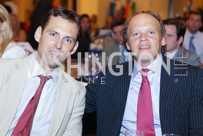 Lawrence Cann, Mark Ein. Photo by Alfredo Flores. 2011 Sport For Social Change Awards. The Embassy of France