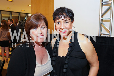 Stephanie Welch, Sheila Johnson. Photo by Alfredo Flores. 2011 Sport For Social Change Awards. The Embassy of France