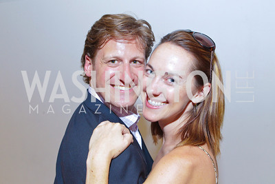 Ryan Forsythe, Taryn Fielder. Photo by Alfredo Flores. 2011 Sport For Social Change Awards. The Embassy of France