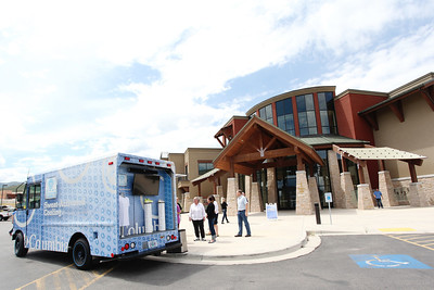 Columbia Ice Cream Truck at the Center of Excellence Photo © Sarah Brunson/U.S. Ski Team