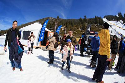 The Delta Yurt 2013 Sprint U.S. Freestyle Championships at Heavenly Resort, California Photo: Sarah Brunson/U.S. Ski Team