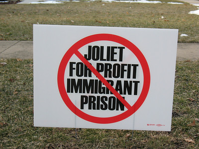 2013-03-14 No Joliet Immigrant Prison
