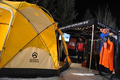 2014 Visa Freeskiing Grand Prix presented by The North Face at Park City Mountain Resort Sponsor Village