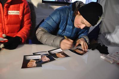 DELTA autograph signings - Park City Grand Prix