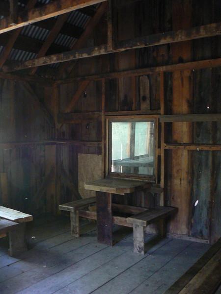 Former caretaker cabin