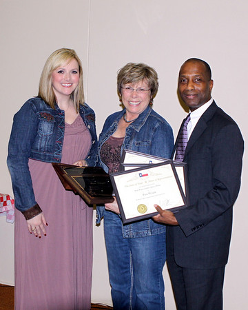 Citizen of the year, community service, and President's Award winner, Pam Wright