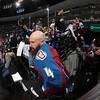DENVER, CO - JANUARY 22: of the Colorado Avalanche skates against the Los Angeles Kings at the Pepsi Center on January 22, 2013 in Denver, Colorado.  (Photo by Michael Martin/NHLI via Getty Images)