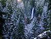 North Falls after a snowfall, Silver Falls State Park, Oregon