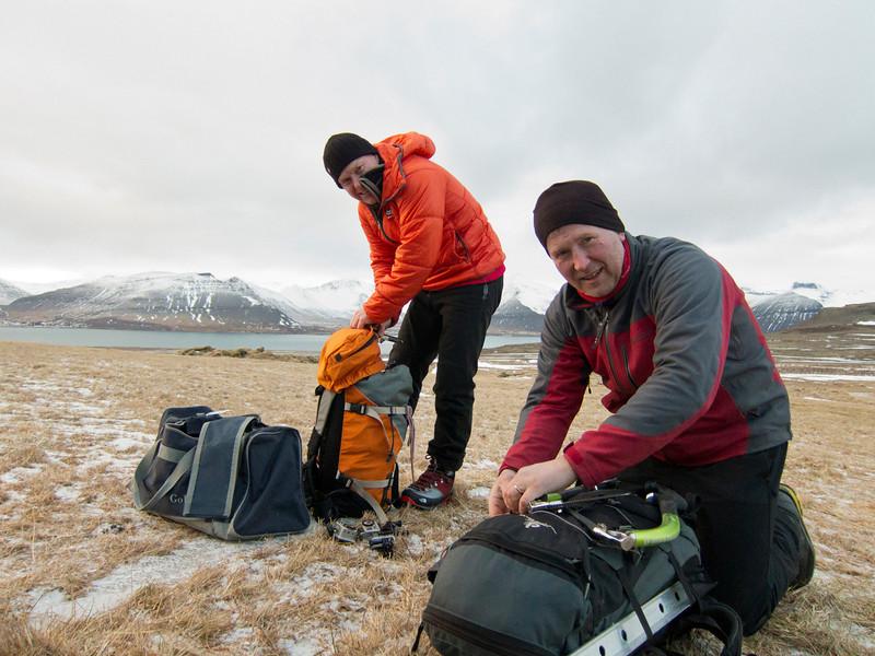 Palli og Guðjón kalla sig gömlukallana