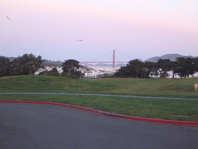 SF in the early, before we headed for our run