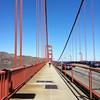 En el 1/2 del puente, mirando hacia el norte