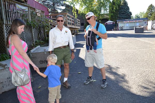 2013.10 Grandma & Grandpa visit