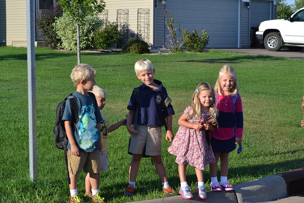 2013.9.3 Boone's First Day of School