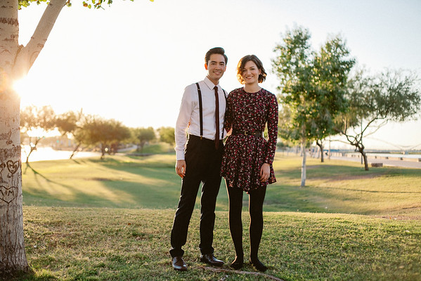 Eamon + Stephanie | Anniversary<br /> Tempe Town Lake<br /> © Session Nine Photographers, 2014<br /> all rights reserved
