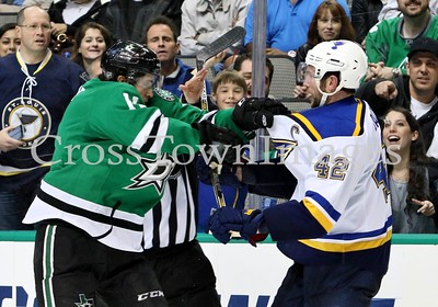 # 11 Curtis McKenzie Fight with # 42 David Backes (1)
