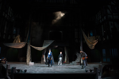 The Oregon Shakespeare Festival. 2015. The Count of Monte Cristo by Alexandre Dumas. Adapted by Charles Fechter and James O'Neil. Directed by Marcela Lorca. Scenic Design: Sibyl Wickersheimer. Costume Design: Ana Kuzmanic. Lighting Design: Karin Olson. Composer/Sound Design: Sarah Pickett. Photo: Jenny Graham.