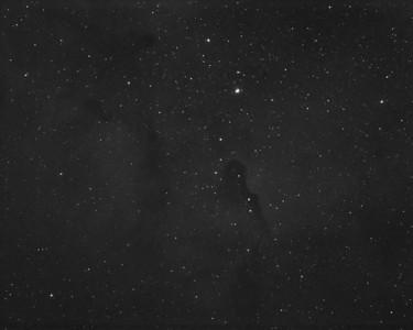 Elephants Trunk Nebula Region IC1396  OIII Emission (3nm)