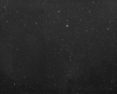 Elephants Trunk Nebula Region IC1396  SII Emission (3nm)
