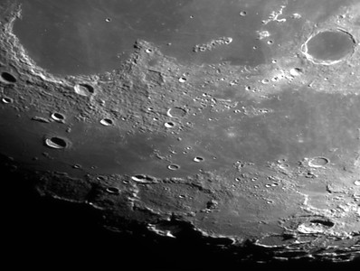 Mare Frigoris and Sinus Iridium